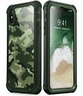 For iPhone X /XS i-Blason Ares Full-Body Case 360 Protection w/ Screen Protector