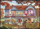 Autumn House - Chart Counted Cross Stitch Patterns Needlework DIY DMC Color