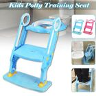 198 lbs Child Potty Trainer Toddler Toilet Seat Chair Kids  w/ Step Stool Ladder image