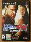 WWE SmackDown vs Raw Playstation 2 Ps2