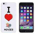 'I Love Movies' Mobile Phone Cases / Covers (MC001695)