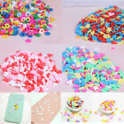 10g/pack Polymer clay fake candy sweets sprinkles diy slime phone suppl JF image