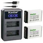 Kastar Battery LCD Dual USB Charger for Canon LP-E17 & & Canon Rebel T7i T6s T6i