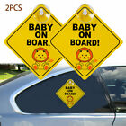 2 4 baby on board warning safety sign sticker vinyl decal for car vehicle window
