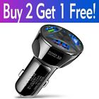 2-4 Port USB QC 3.0 Fast Car Charger for iPhone Samsung Android Cell Phone LG
