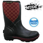 LADIES MUDS NEOPRENE WATERPROOF SNOW FESTIVAL MUCK WELLIES WELLINGTON BOOTS SIZE