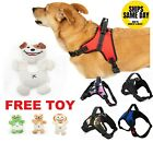 No Pull Adjustable Dog Pet Control Harness Vest in Nylon / Mesh XS-XXL FREE TOY!