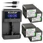 Kastar Battery LCD Dual Charger for Panasonic VBG260 HDC-TM700 HDC-TM700K Camera