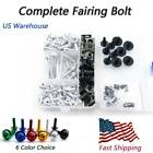 Motorcycle CNC Fairing Bolt Nuts Mount Fixing Screws For Triumph Daytona 650 05 $28.99 USD on eBay