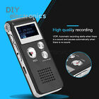 Rechargeable 8GB Digital Audio/Sound/Voice Recorder Dictaphone MP3 Player US