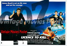 Licence To Kill 1989 Reproduction UK james bond Quad Movie Poster timothy £39.99 GBP on eBay