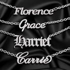 Personalised Any Name Necklace Custom Font Stainless Steel Pendant Chain Gift