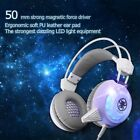 USB LED Gaming Headset Surround Stereo Headband Headphone Mic For PC PS4 Xbox