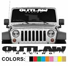 Outlaw Racing Drip Windshield Decal Sticker Vinyl Lift Import Diesel Turbo Low