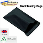 STRONG BLACK Mailing Bags 12