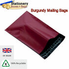 STRONG BURGUNDY Mailing Bags 14