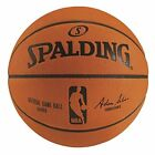 "Spalding NBA Official Game Basketball 29.5"" Professional 74876E Leather - 9W_83 on eBay"