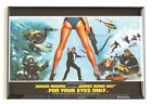"For Your Eyes Only FRIDGE MAGNET movie poster ""style B"" $5.95 USD on eBay"