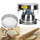 110V Vibrating Sieve Machine Food Powder Particle Sifter Shaker Sieve 80/50 Mesh
