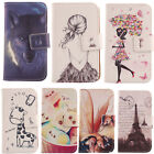For Smartphone - Phone PU Leather Case Flip Folio Cover Wallet Protection Bumper