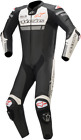 Alpinestars Missile Ignition One-Piece Leather Suits BLACK RED WHITE