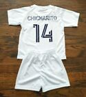 Chicharito #14 Los angeles Kid's Soccer Jersey and shorts on Ebay