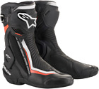 Alpinestars SMX Plus Vented Motorcycle Boots BLACK RED WHITE