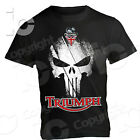 T-shirt Triumph Punisher UK Maglia Cafè Racer Tiger 765 Thruxton Bonneville