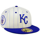 NEW ERA MLB Kansas City Royals 59FIFTY Ultimate Patch Fitted Hat Cap retro logo on Ebay