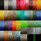 1.18mm Micro Cord Paracord For Crafts Macrame Jewellery Fishing 100lb Test Line
