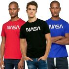 NASA t-shirt uomo FASHION QUICK stampa NASA maglietta stampata nero rosso royal
