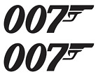 007 James Bond Sticker Vinyl Decal Gun  (BUY 1 GET 2) FREE SHIPPING $33.0 USD on eBay