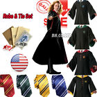 Kyпить Harry Potter Hogwarts Adult Child Robe Cloak Scarf Halloween COS Costumes на еВаy.соm