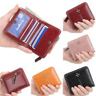 Retro Women Wallet Leather Small Mini Purse ID/Credit Card Holder Pocket Wallet image