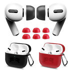 For Apple Airpods Pro Memory Foam Ear Tips Earbuds / Silicone Chaging Case Cover