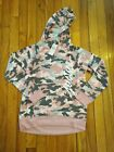 Kyпить NWT Justice Girls Snugly Soft Camo Pink Gray Hooded Logo Top Size 10 12 на еВаy.соm