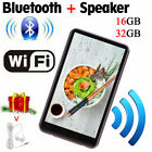 16GB / 32GB Walkman Bluetooth WIFI MP4 Player Touch Screen 1080P HD For Android