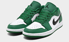 Air Jordan Retro 1 Low Basketball Shoes Sneakers Nike Pine Green 553558 301