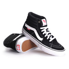 Vans Men's Sk8-Hi Pro Black / White Skate Shoes VN000VHGY28 $70