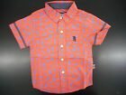 Toddler/Boys English Laundry 30/ 32 Dark Coral Casual S.S. Shirt Sizes 2T - 16