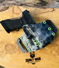 Burly Man Tactical OWB Kydex holster: Fits SCCY Handguns