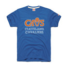 Cleveland Cavaliers logo vtg retro NBA basketball homage t-shirt men's cavs blue on eBay