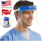 2/10PCS Full Face Shield Clear Transparent Glasses Protector Cover Work Industry