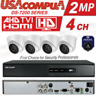Used, HIKVISION SECURITY SYSTEM 4CH 4 CAMERAS KIT EXIR HD DOME DVR 1080P (1TB HDD) for sale  Shipping to Nigeria