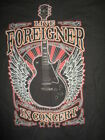 """Foreigner - """"Live In Concert 2016"""" Tour T-Shirt  Free Shipping  Great Price image"""