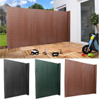Waterproof PVC Garden Fence Panel Protective Screen Fence Shield Balcony Privacy