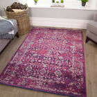 Cheap Traditional Rugs | Vibrant Vintage Rug | Small Large Mats | Hallway Runner