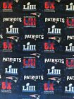"""100 % Cotton MASK NHL NFL Fabric 1/4, 1/2, 1Y by 44"""" wide New England Patriots $37.99 USD on eBay"""
