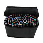 80 Colors Brush Twin Tip Markers Art Pen Set Graphic Artist Paint Dual Tip Tools