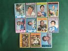 1972 TOPPS 1ST SERIES 1-132 PICK CARDS YOU WANT NM-MINT